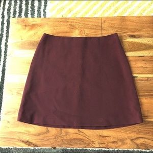J. Crew Wine-colored Skirt